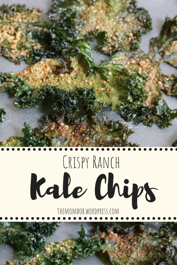 Kale Chips Pinterest Graphic